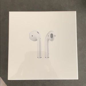Apple AirPods NEVER OPENED